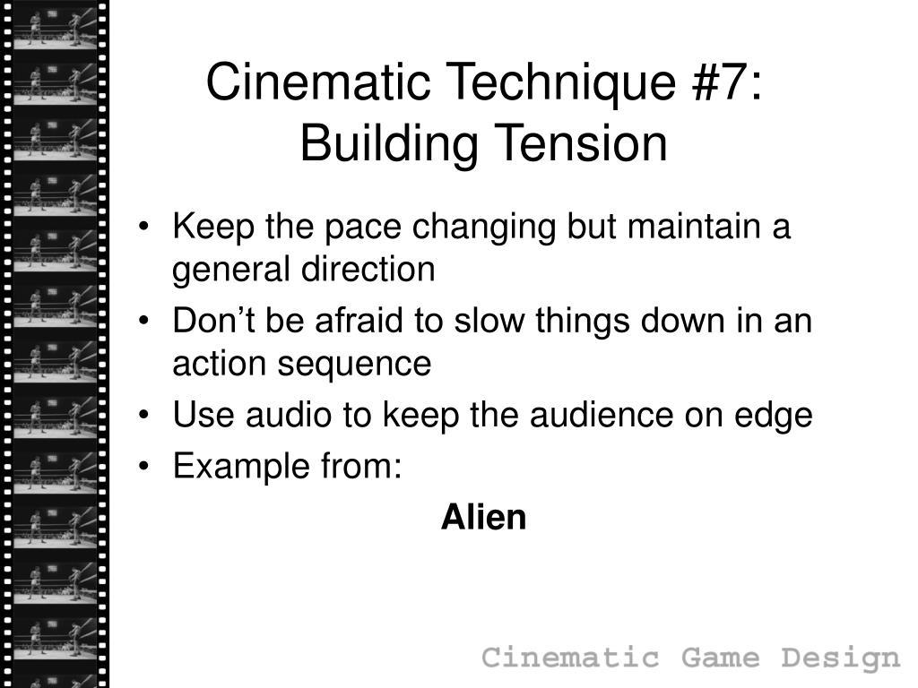 Cinematic Technique #7: