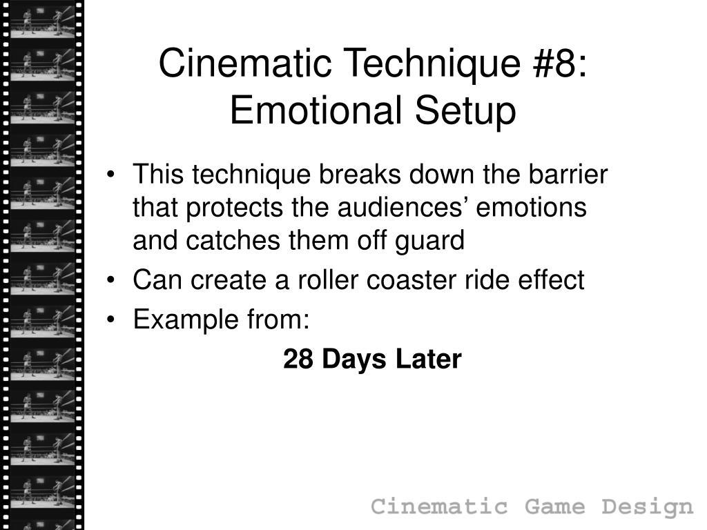 Cinematic Technique #8: