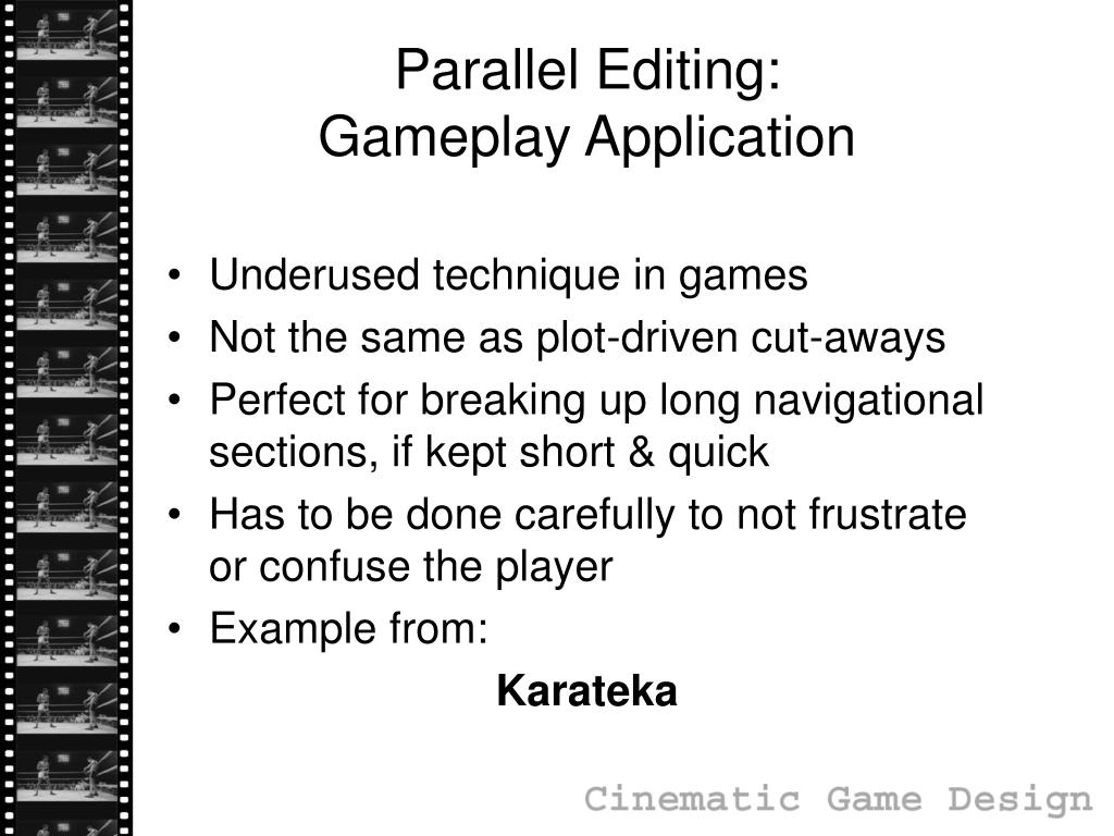 Parallel Editing:
