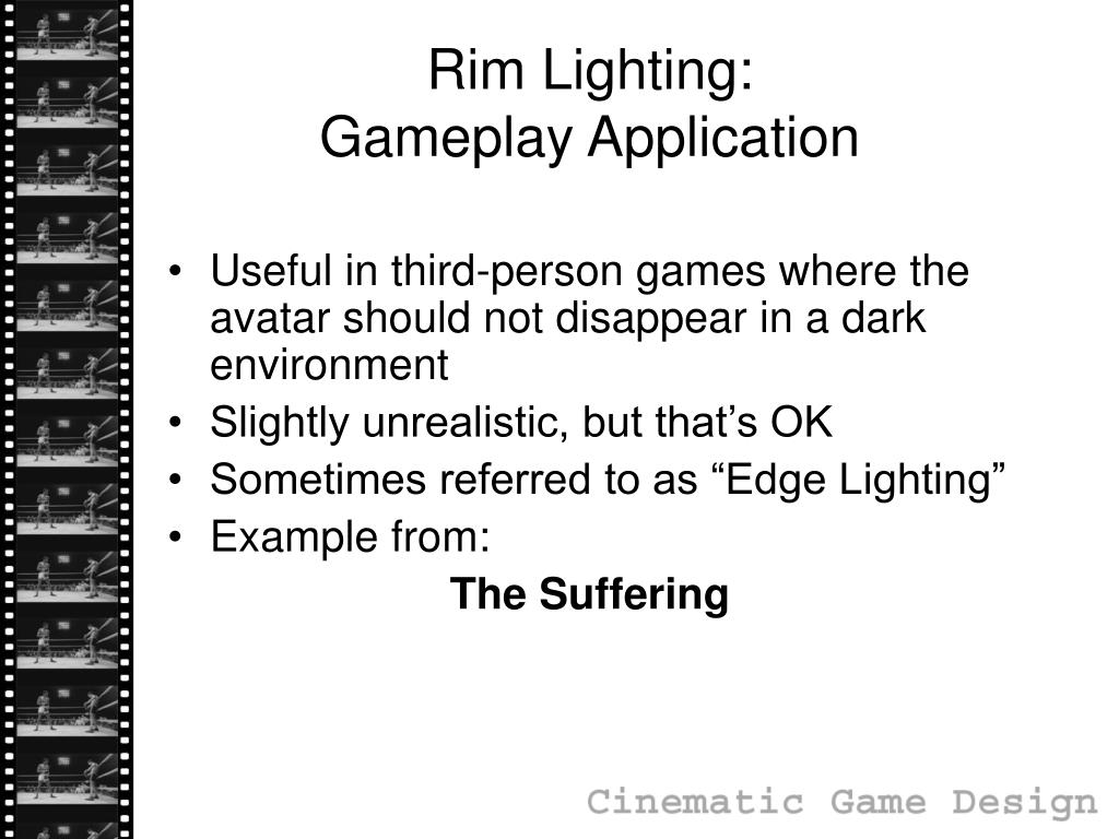 Rim Lighting:
