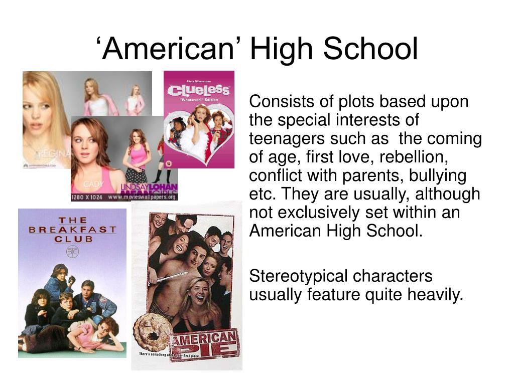 'American' High School