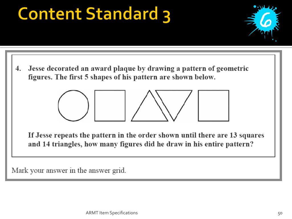 Content Standard 3