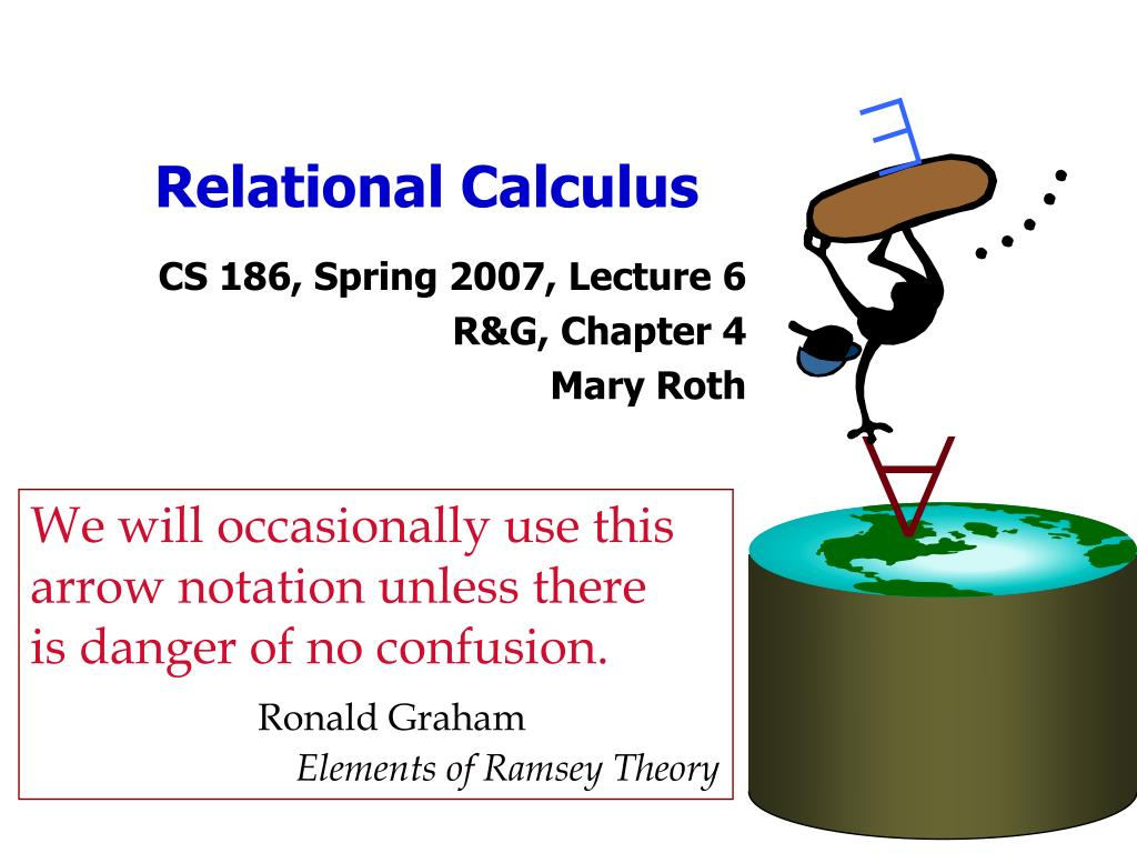 PPT - Relational Calculus PowerPoint Presentation - ID:672756