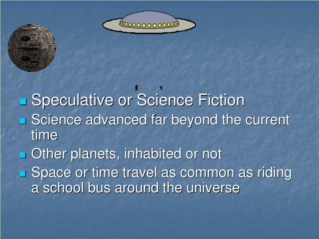 Speculative or Science Fiction