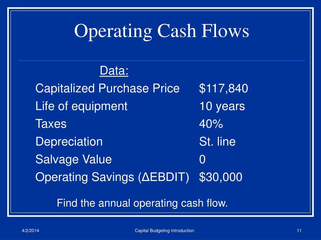 Operating Cash Flows