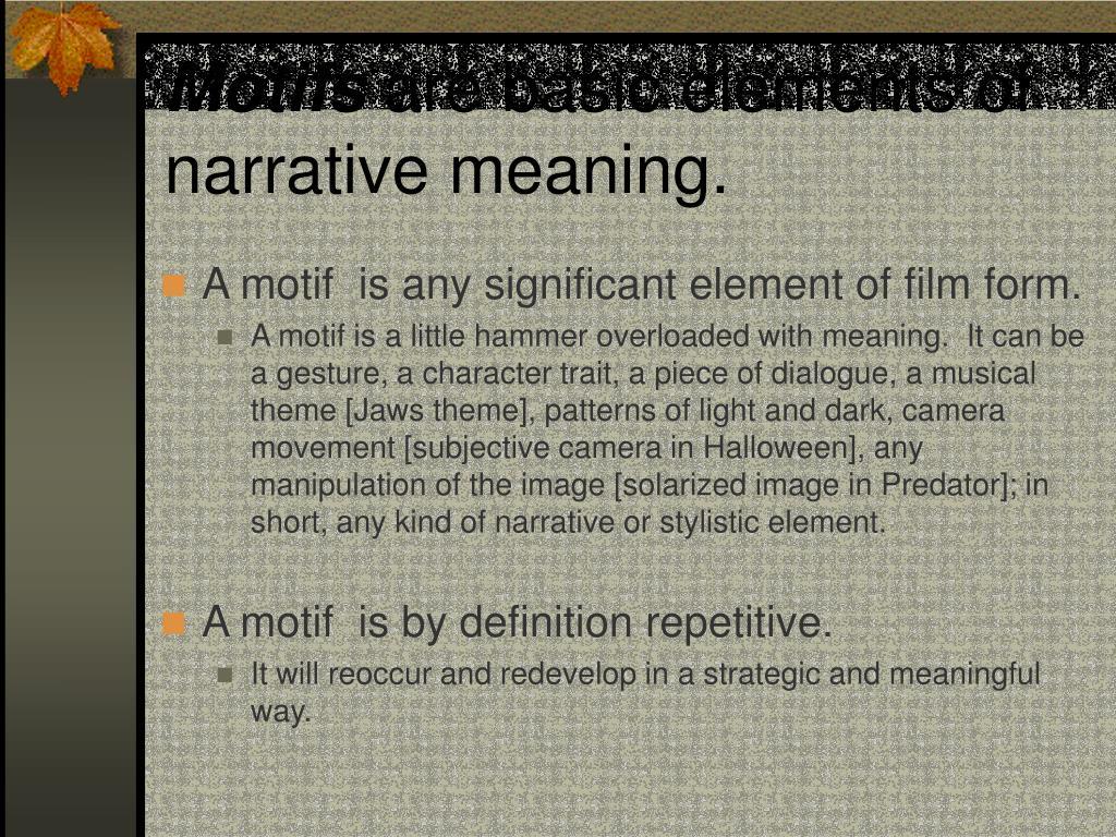 Motifs