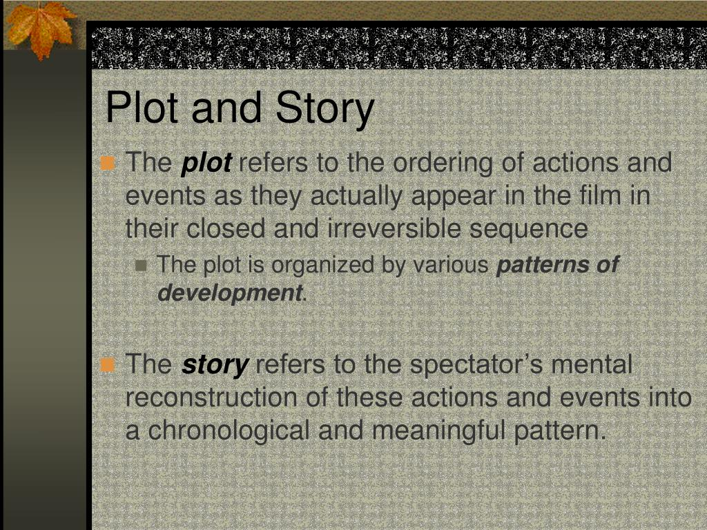 Plot and Story
