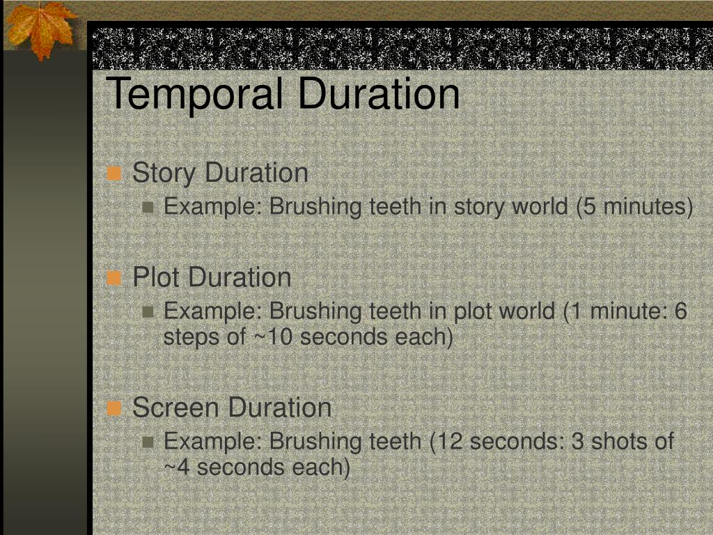 Temporal Duration