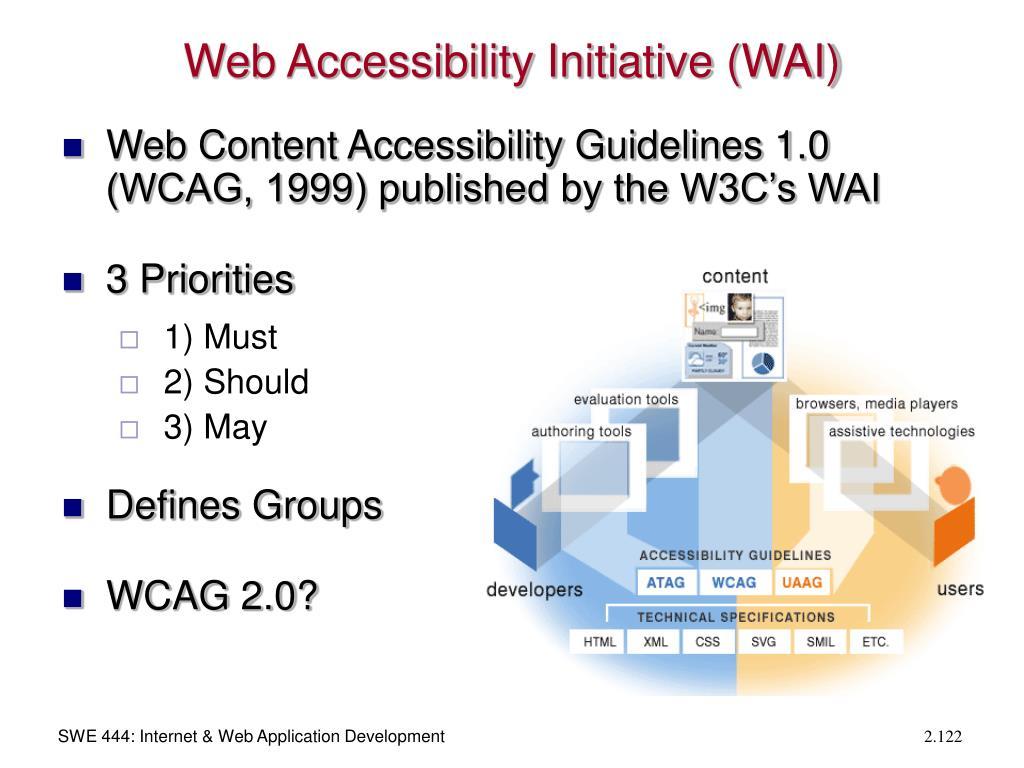 Web Accessibility Initiative (WAI)