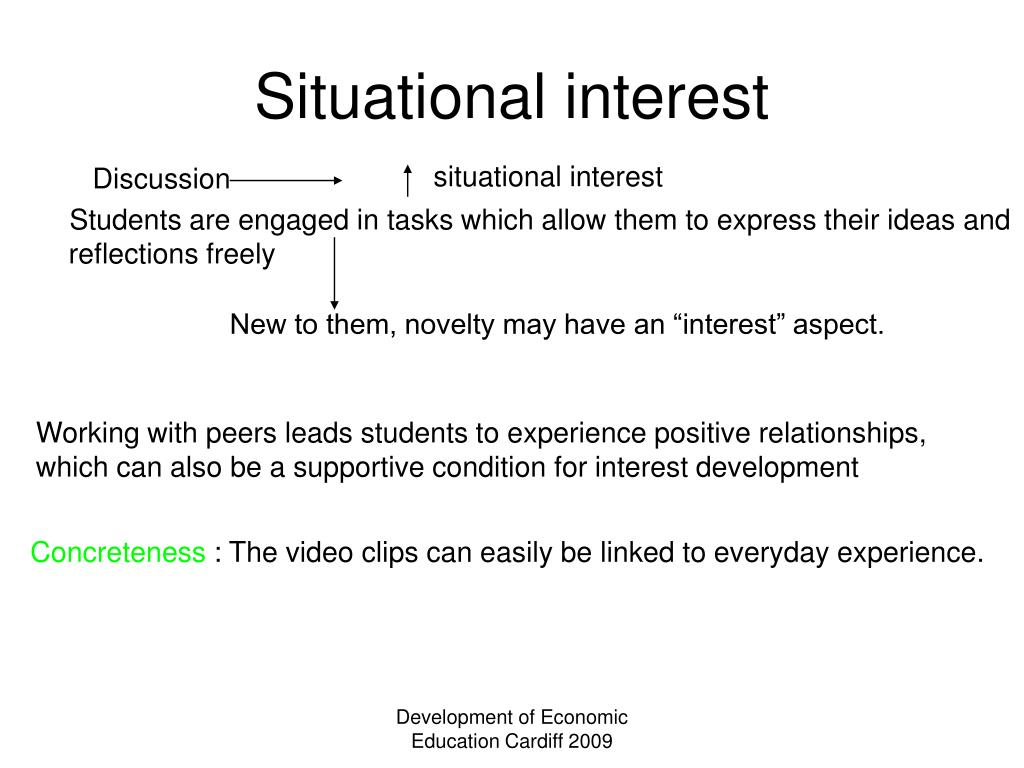 Situational interest
