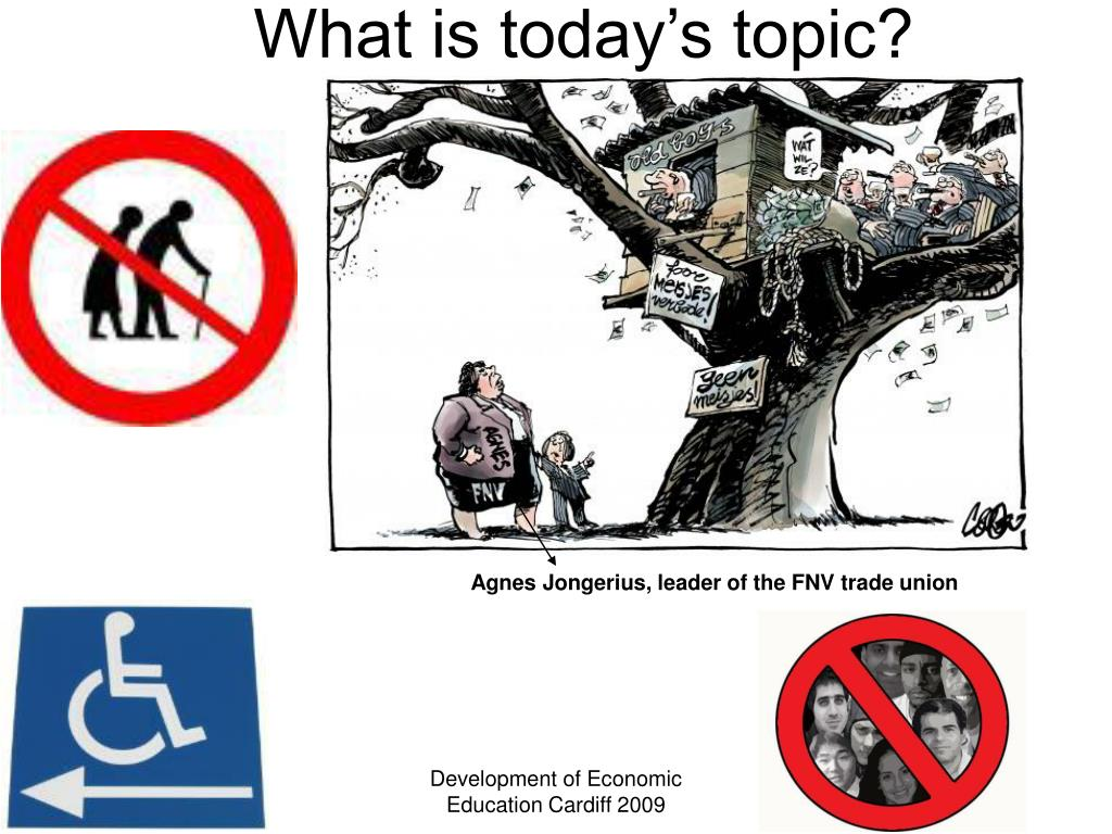 What is today's topic?