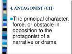 4 antagonist ch