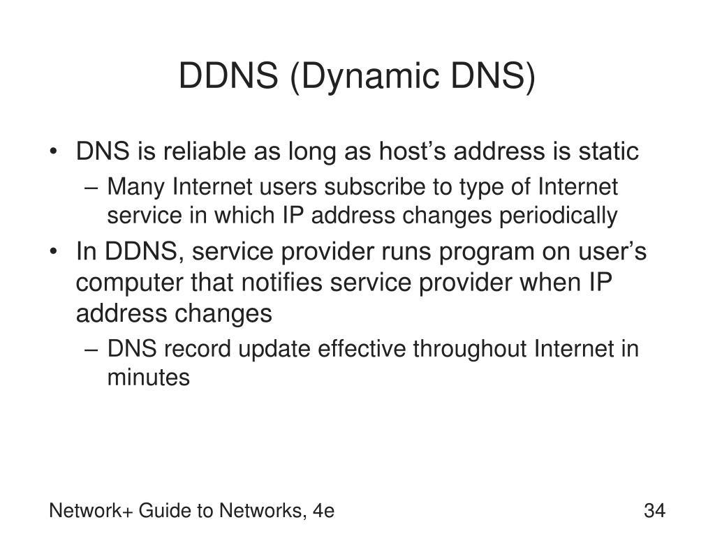 DDNS (Dynamic DNS)