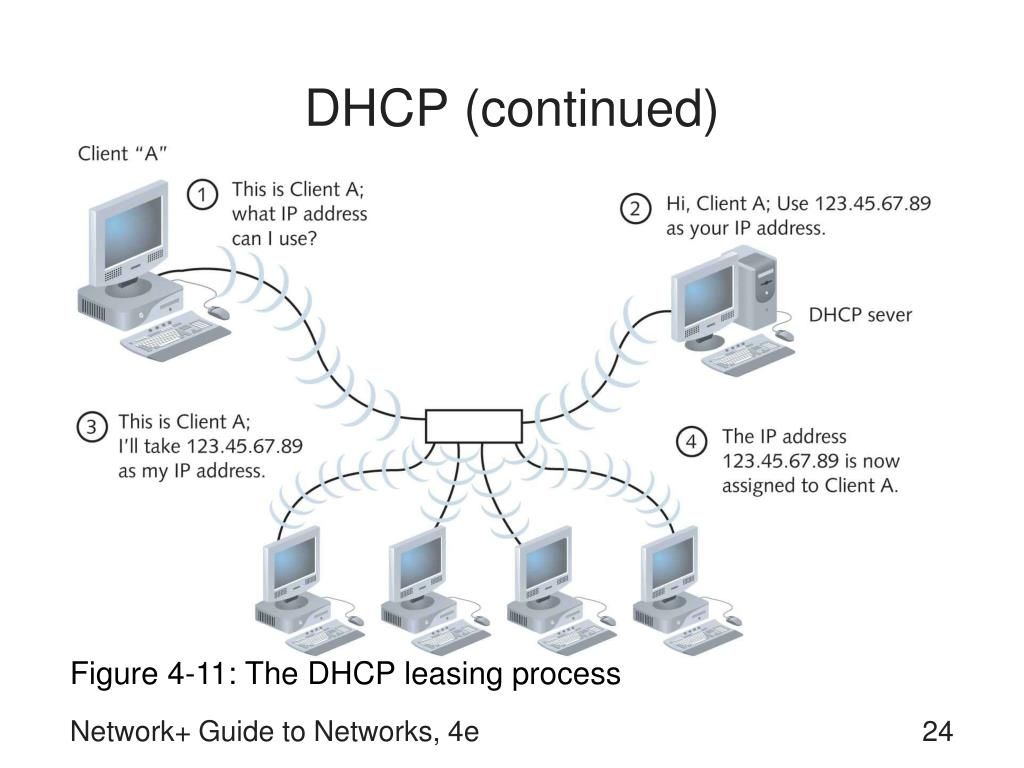 DHCP (continued)