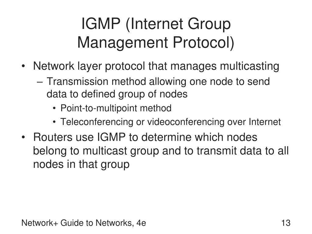 IGMP (Internet Group