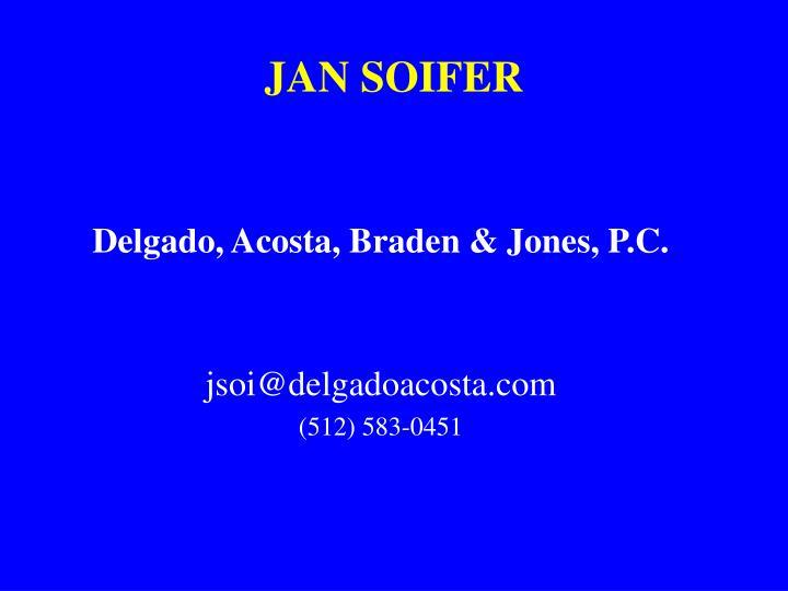 Jan soifer
