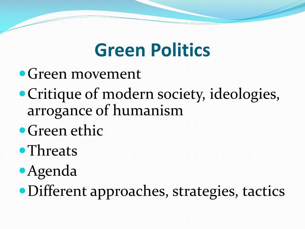 green politics l.