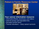 patient family resource center