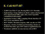 e coli 0157 h7
