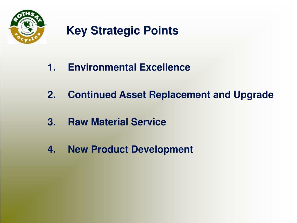 1.Environmental Excellence