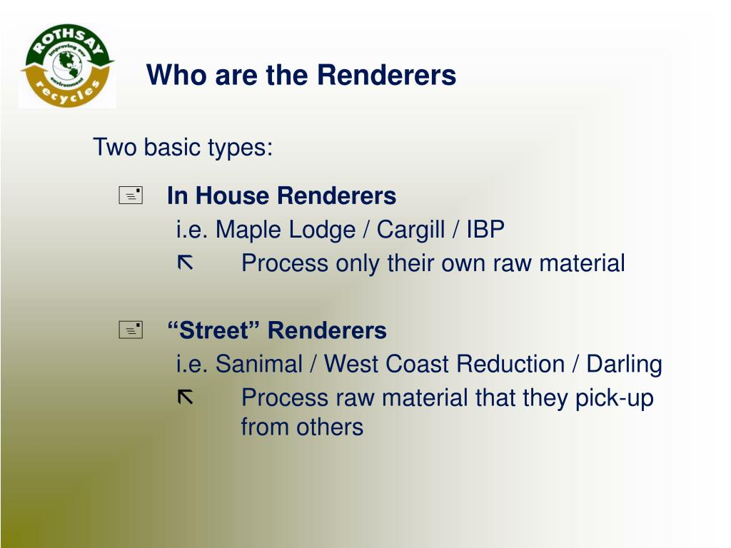 In House Renderers