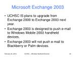 microsoft exchange 2003