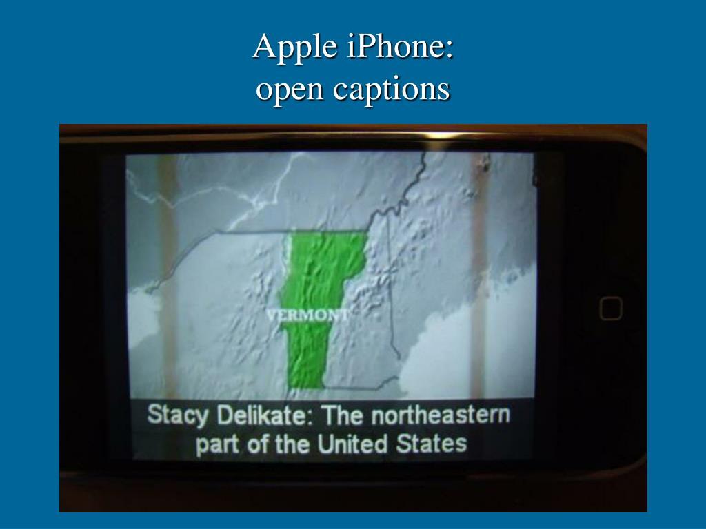 Apple iPhone: