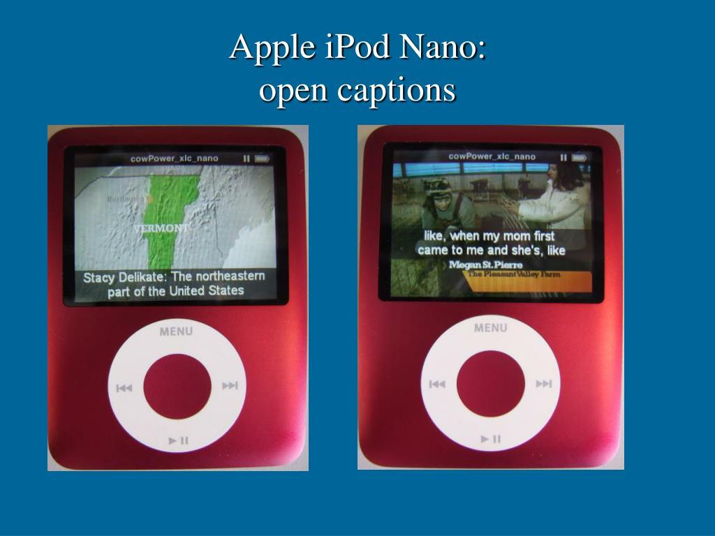 Apple iPod Nano: