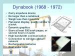 dynabook 1968 1972