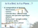 is it a bird is it a plane