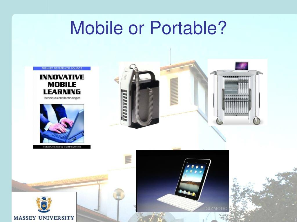 Mobile or Portable?