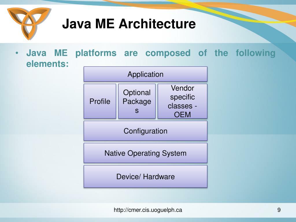 Java ME Architecture