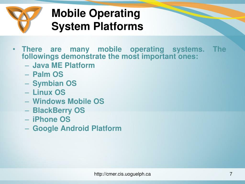 Mobile Operating
