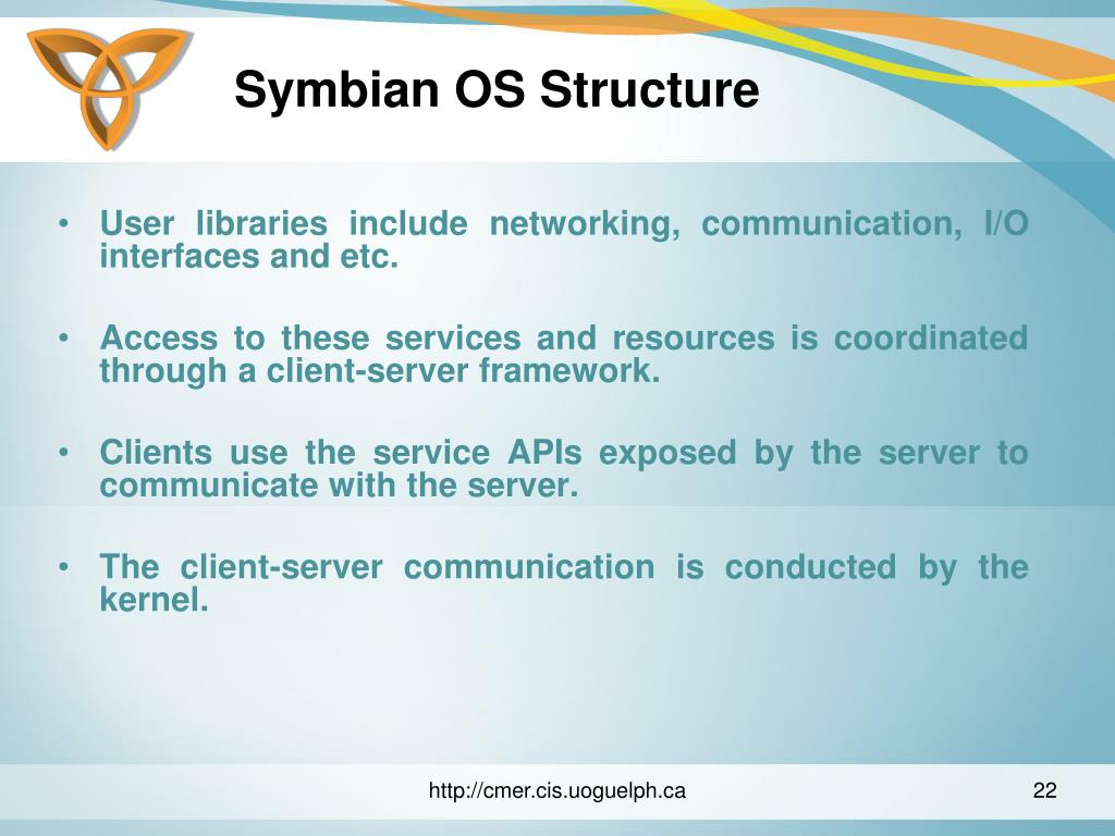 Symbian OS Structure