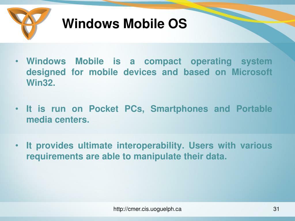 Windows Mobile OS