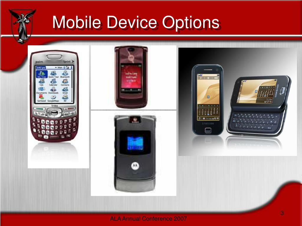 Mobile Device Options