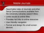 mobile journals