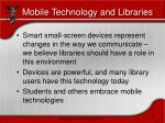 mobile technology and libraries6