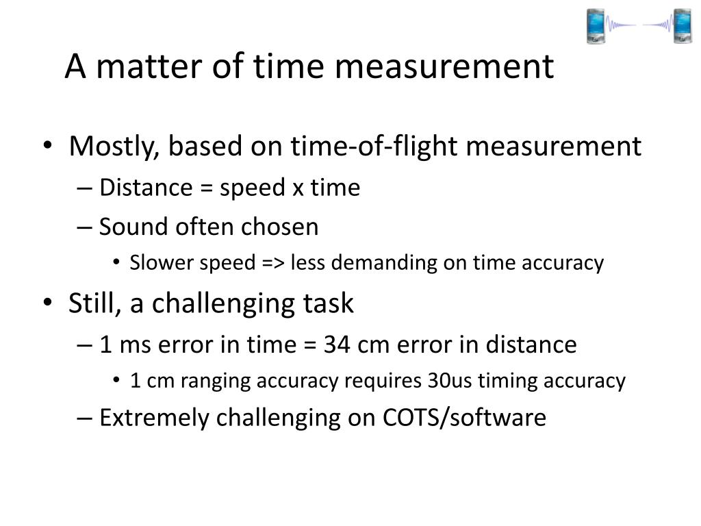 A matter of time measurement
