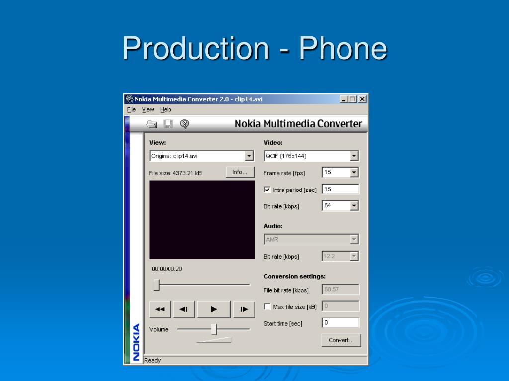 Production - Phone