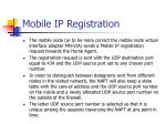 mobile ip registration