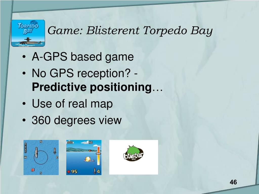 Game: Blisterent Torpedo Bay