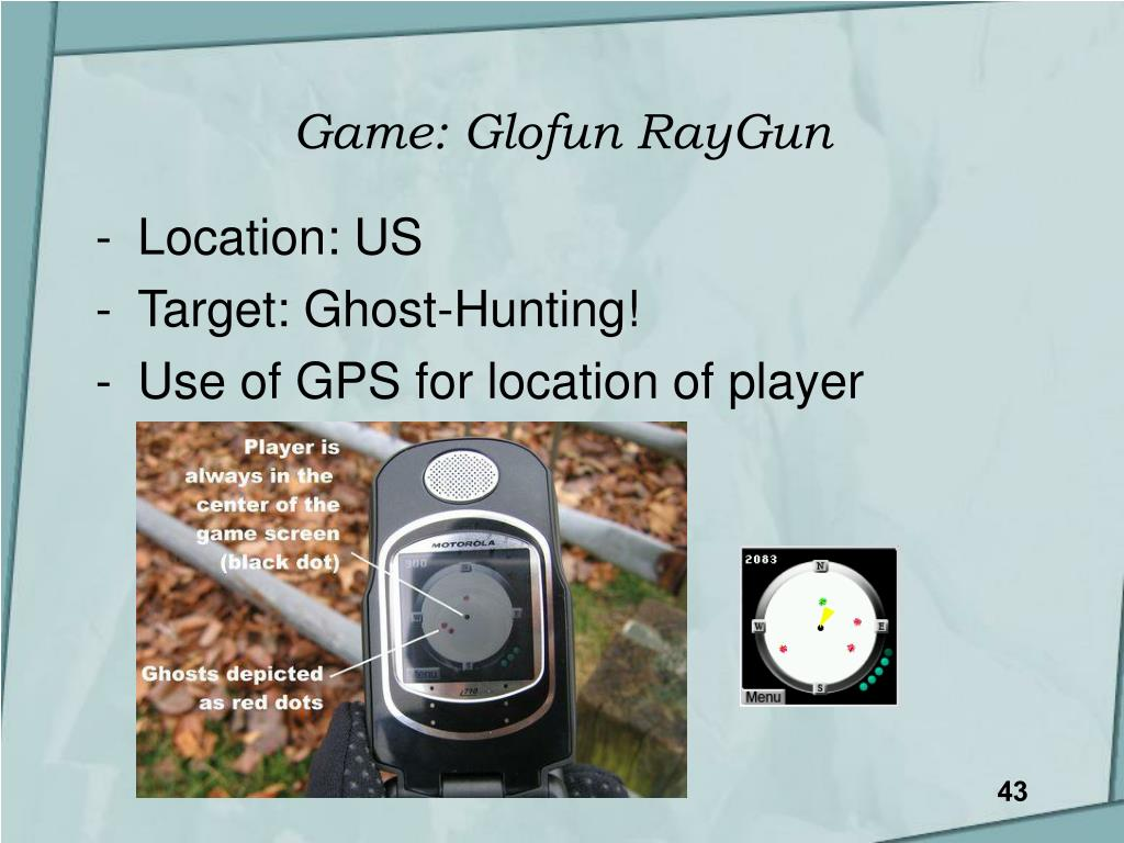 Game: Glofun RayGun