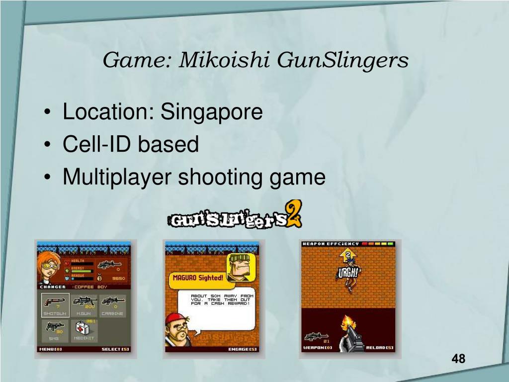 Game: Mikoishi GunSlingers