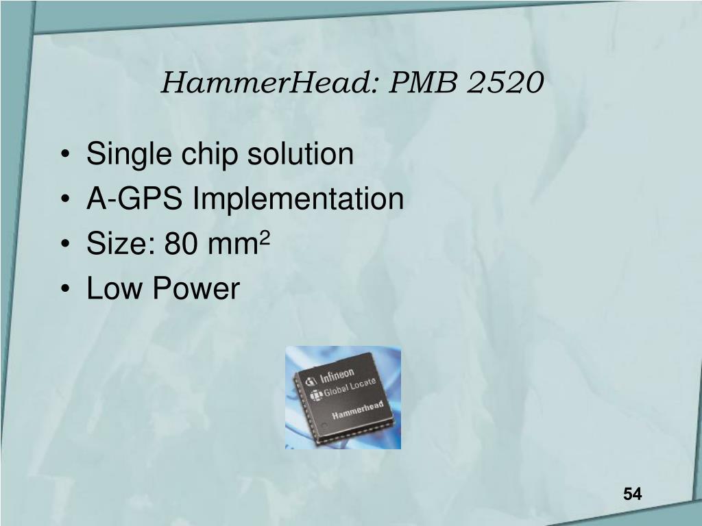 HammerHead: PMB 2520
