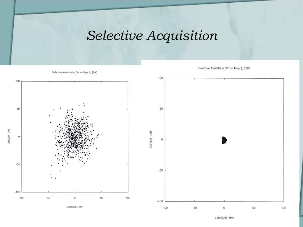 Selective Acquisition