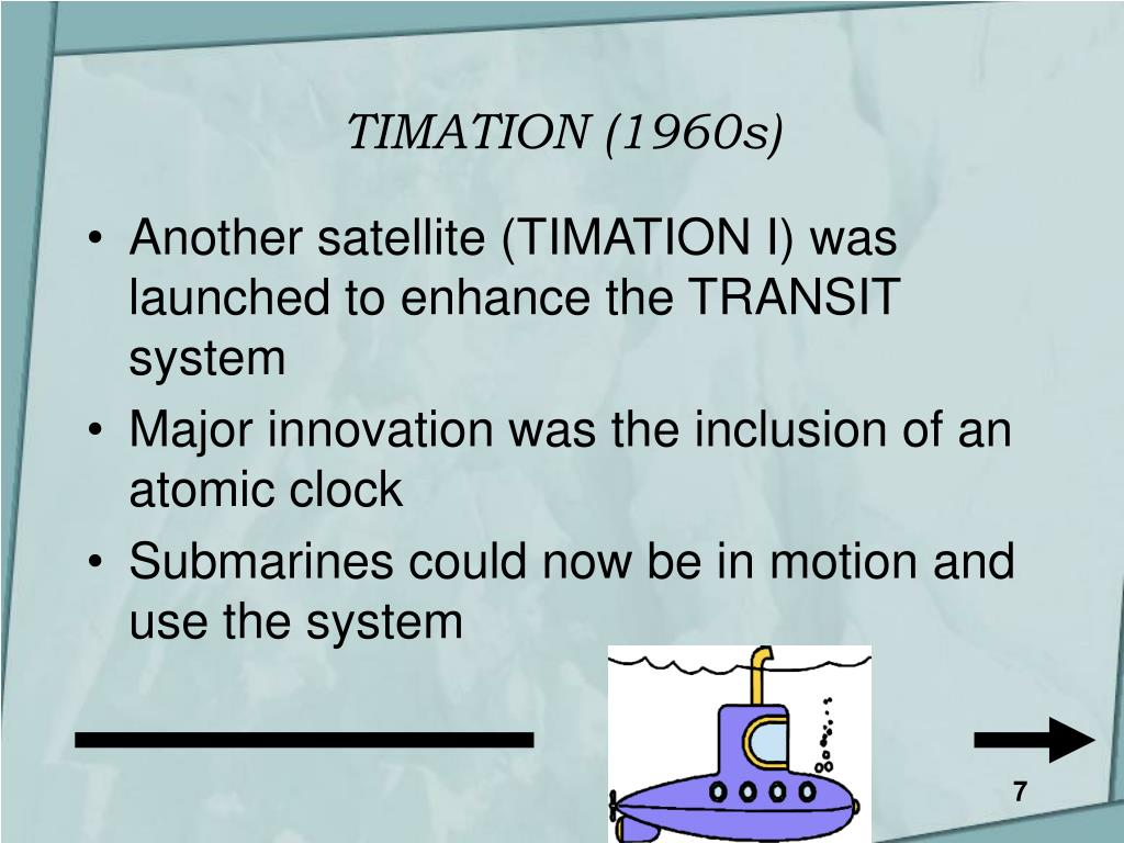TIMATION (1960s)