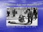 the sixties anti war movement19