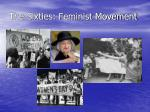 the sixties feminist movement25