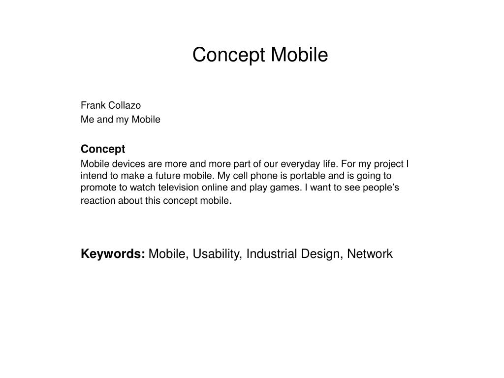 concept mobile l.